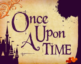 Once Upon A Time sign..